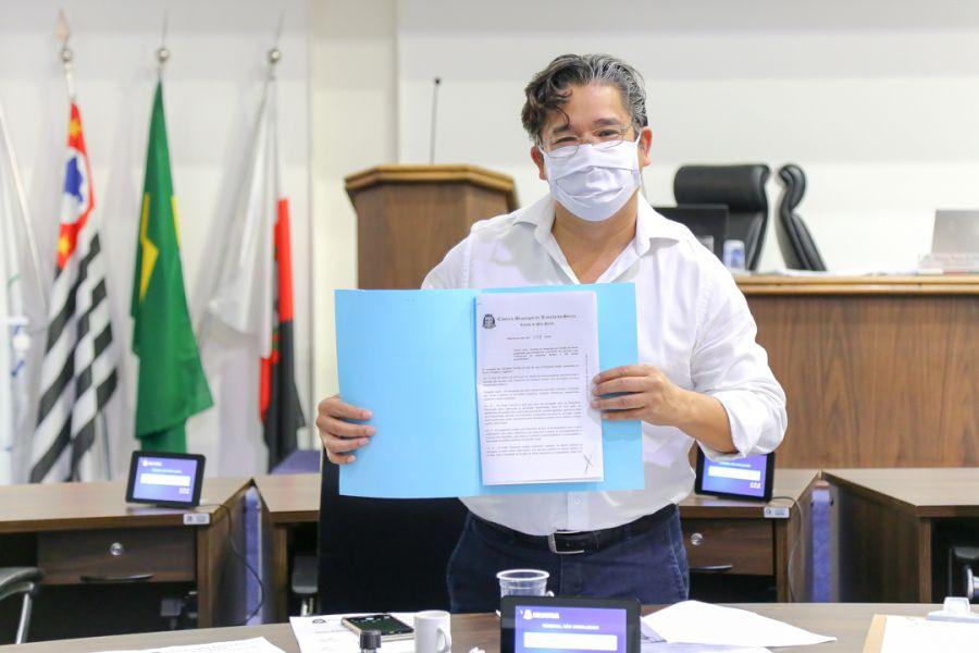 Leandro Barreira / Divulgação / Imprensa CMTSVereador Ronaldo Onishi tem projeto aprovado para programas municipais de inclusão