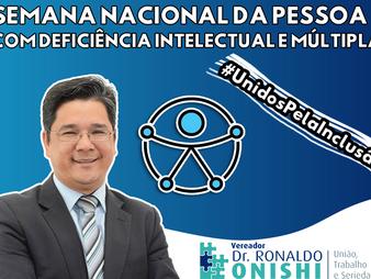 Vereador Dr. Ronaldo Onishi: ícone da luta pela inclusão em Taboão da Serra