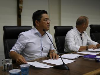Vereador Onishi preside audiência pública da Comissão de Finanças
