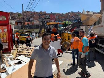 Dr. Ronaldo Onishi participa da Operação Verão no Jd. Trianon