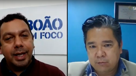 Vereador Dr. Ronaldo Onishi concede entrevista ao Taboão em Foco
