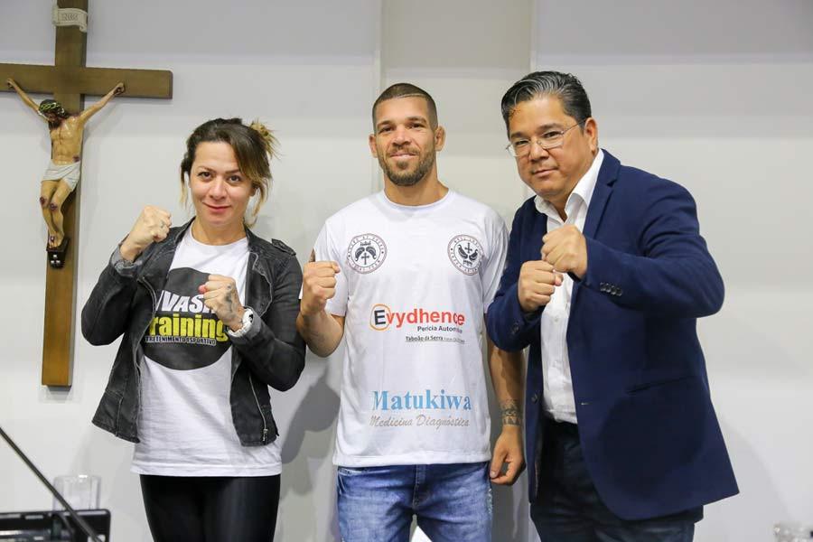 Vereador Ronaldo Onishi faz voto de louvor para André de Locco, lutador de MMA que está se destacando no esporte