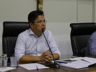 Vereador Onishi preside audiência da Comissão de Finanças