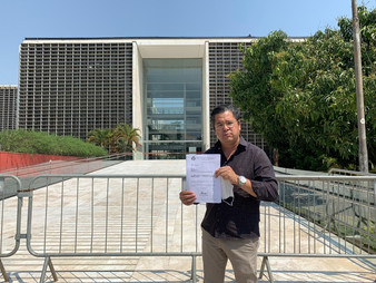 Vereador Dr. Ronaldo Onishi vai até Alesp contra retirada de direitos de autistas e PCD