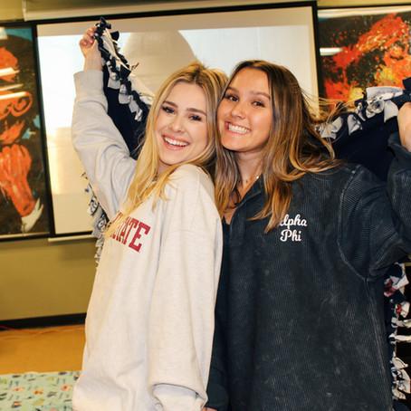 Sisterhood: Blankets For Paradise
