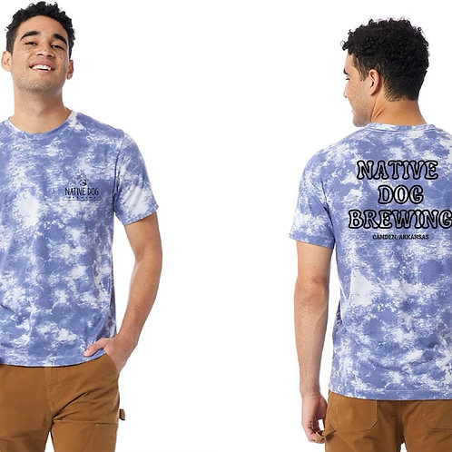 Tie-Dye Short Sleeve Shirt- Limited Edition!