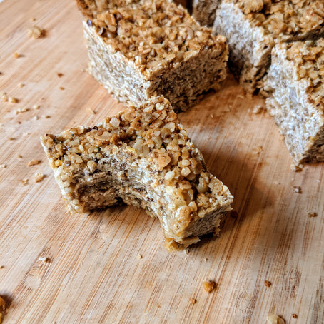 Childhood Flapjack (granola bar that doesn't crumble)