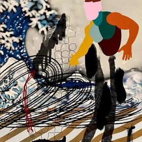 SfB, «Déferlement » collage numérique,