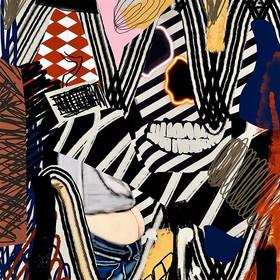 SfB, «Graffiti » collage numérique, 202