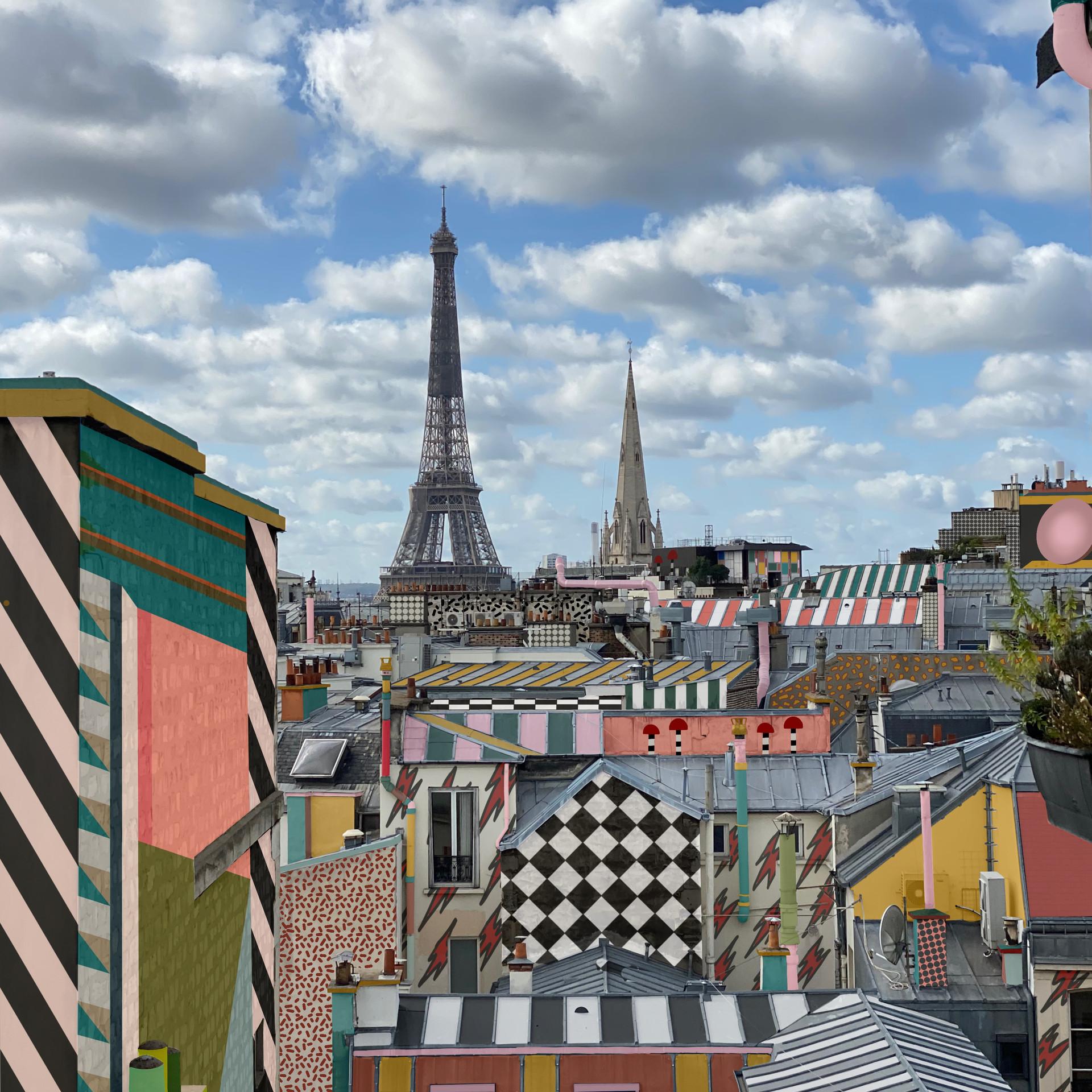 Paris Memphis Tour Eiffel