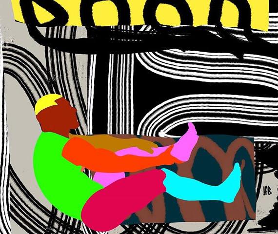 SfB, «mixed Sagat», collage numérique,