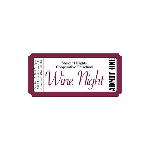 Wine Night Single Ticket