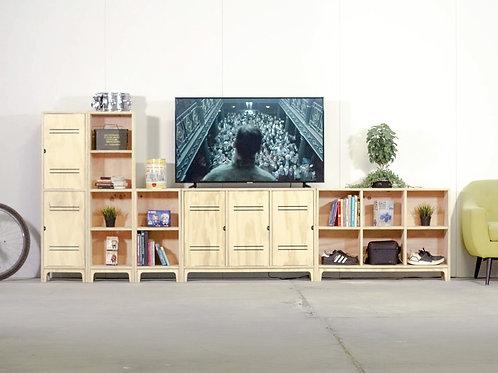 MUEBLE TV MODULAR 5P