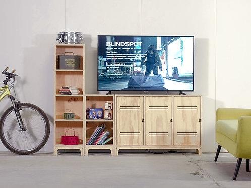 MUEBLE TV MODULAR 3PC