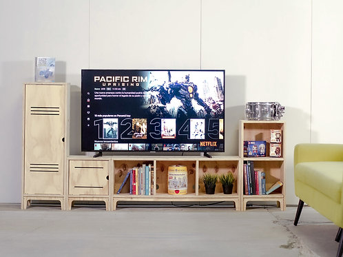 MUEBLE TV MODULAR 4PH