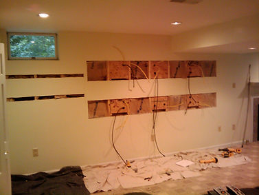 Multi TV Mancave Installation