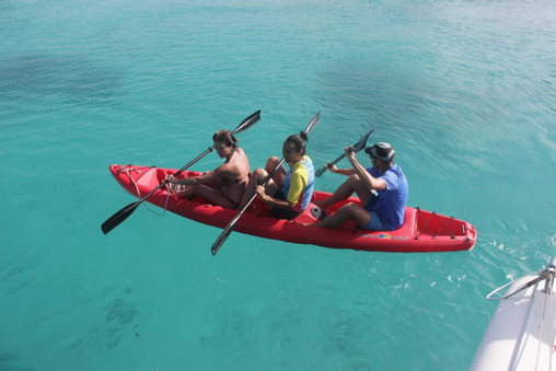 Kayak in San Blas