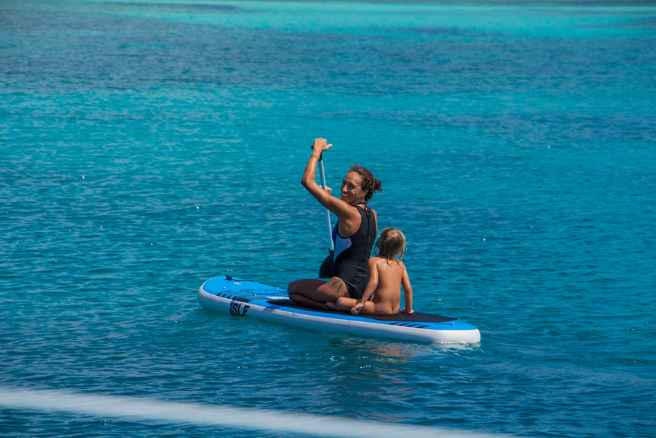Stand up Paddle in San Blas
