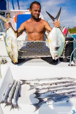 Day fishing in San Blas