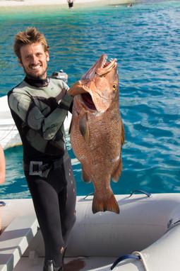 Day fishing, Parjo Rojo in San Blas