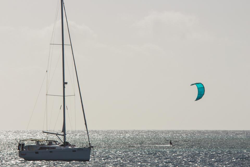 Kite onboard