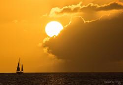 Sunset Martinica