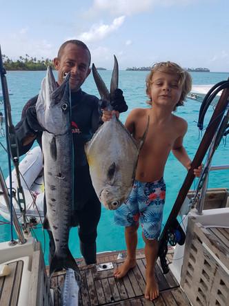 Day fishing San Blas