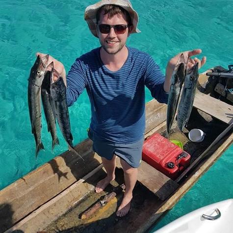Fishing in Kuna Ulu - San Blás