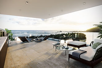 Luxury penthouse apartments, Aleia Palm Beach
