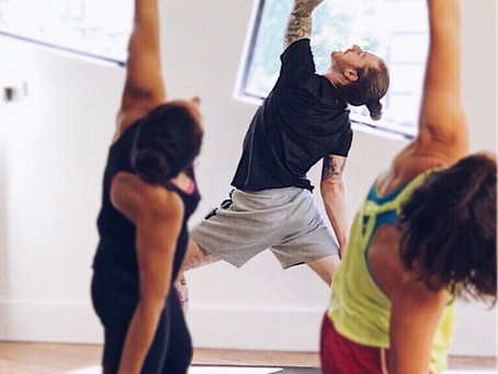 In 2017 I went from teaching 1 Yoga class a week to teaching over 50 classes in the final 50 days