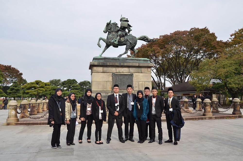 Bruneian delegates of JICE JENESYS