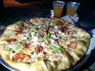 Después del roadtrip, ¡a comer pizza!