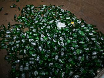 El vidrio protagoniza el recogido del Garnier Green Bag Fest
