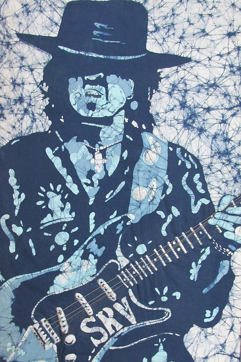 Art Print (matted) - Stevie Ray Vaughan