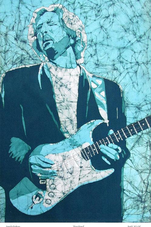 Art Print (matted) - Eric Clapton
