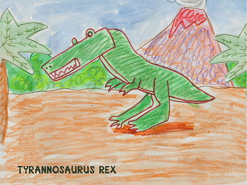 Art Print (matted) - Tyrannosaurus Rex