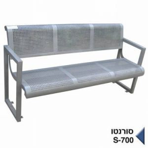 ספסל ישיבה מתכת - סורונטו