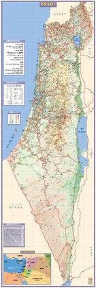 מפת ארץ ישראל עכשווית