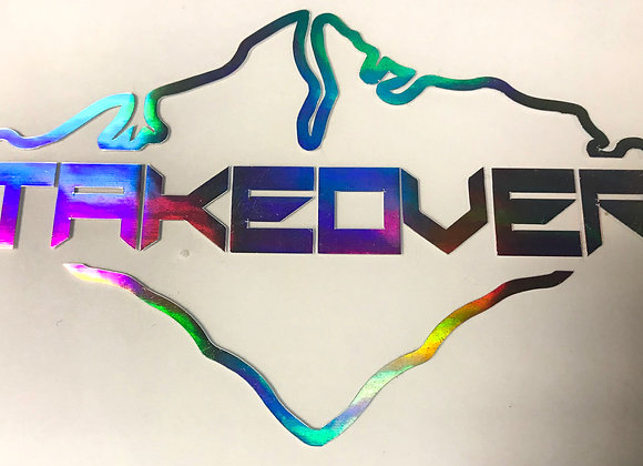 Oil Slick Takeover Decal