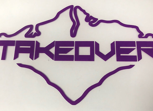 Purple Takeover Decal