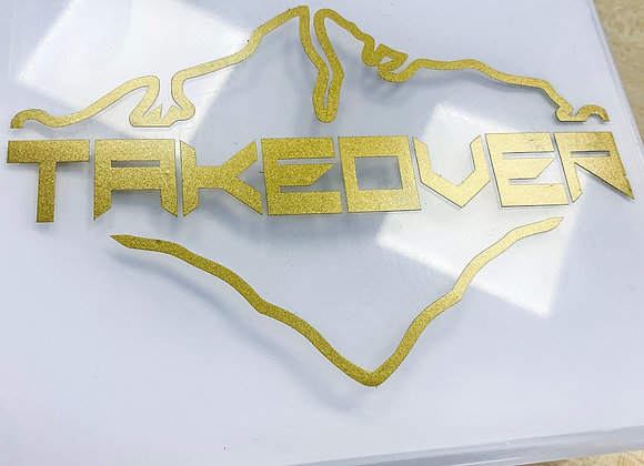Gold Takeover Decal