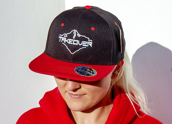 Takeover Red SnapBack