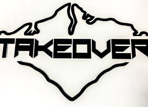 Gloss Black Takeover Decal