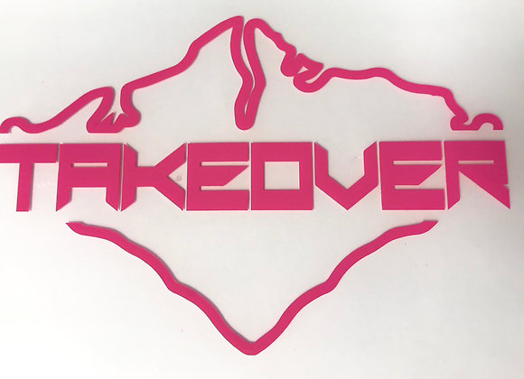 Pink Takeover Decal