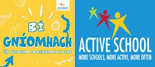 Active School logos