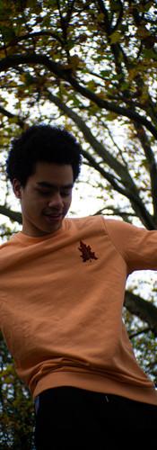 WAANZIN SWEATER - Peach Maple
