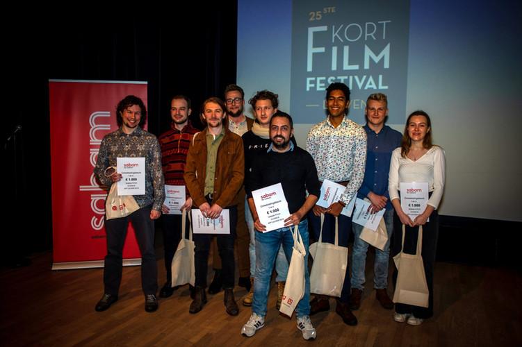 De winnaars van Sabam Ontwikkelingsbeurs