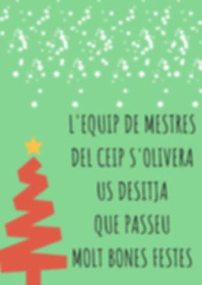 L'EQUIP DE MESTRESDEL CEIP S'OLIVERAUS D