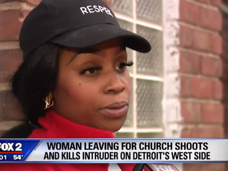 Mom Shoots Attacker, Saves Herself & Two Family Members While Readying for Church