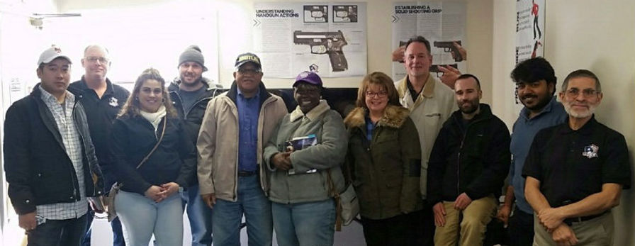 USCCA Instructors & students at a CT Gun Safety Class